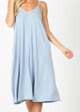 *STEAL DEAL* Jamie Essential Dress- Light Blue