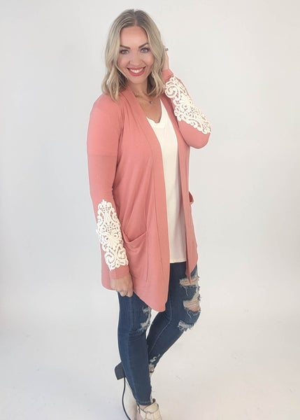 Kissed by a rose cardigan