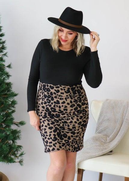 DOORBUSTER:  Animal Print Bodycon Dress *Final Sale*