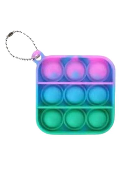 Fidget Popper Keychain- Multi Color