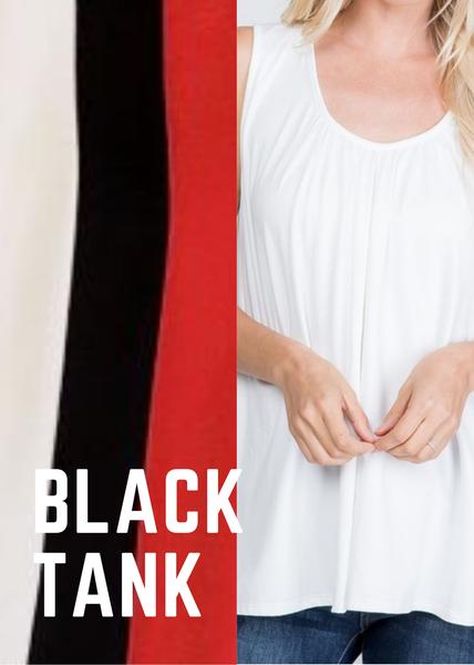 *STEAL DEAL* Christina Butter Soft Tank-Black
