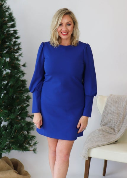 DOORBUSTER: Cobalt Timeless Dress *Final Sale*