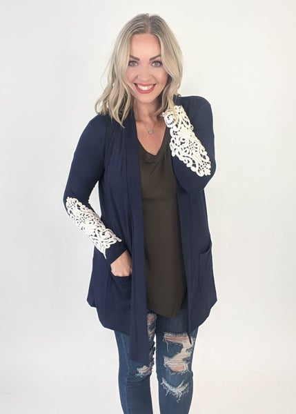 Blue Moon Lace Cardigan