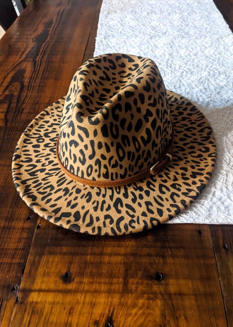 Animal Print Jazz Hat *Final Sale*