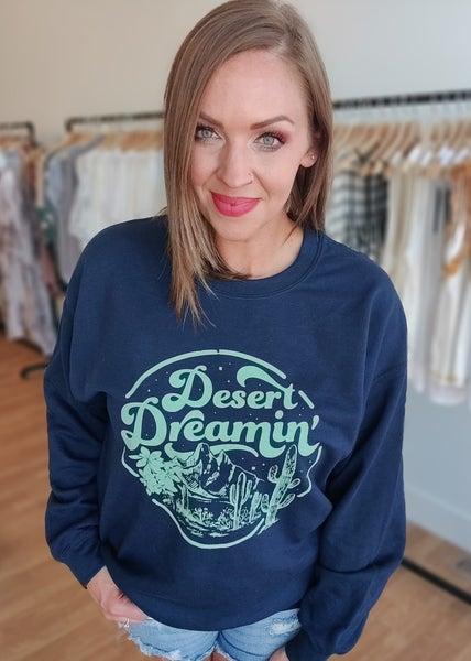 Desert Dreamin Graphic Sweatshirt