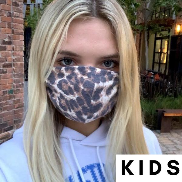 Kids/Toddler,  Animal Print Mask *Final Sale*