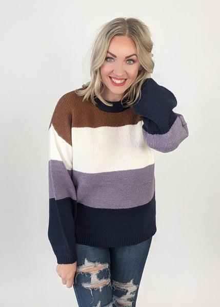 Anna Striped Sweater