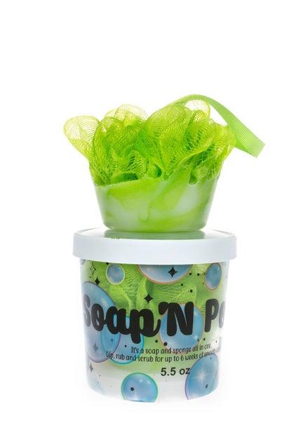 Soap N' Pouf-Melon