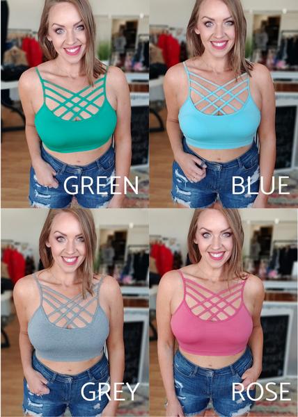 Kinsley Bralette: Mellow -4 Colors