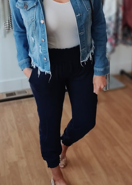 *STEAL DEAL* Navy Joggers