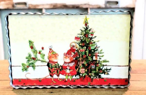 Mice w/ Christmas Tree Gallery