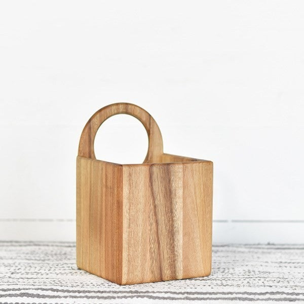 Ring Handle Utensil Holder