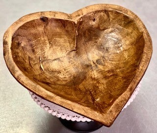 Medium Heart Shaped Dough Bowl
