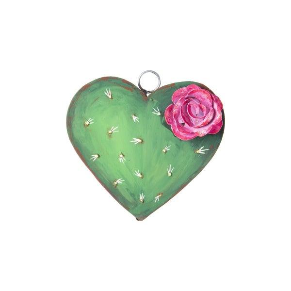 Cactus Heart Charm