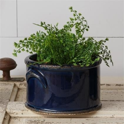 Navy Crock Pottery