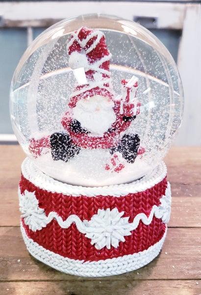 Winter Gnome Snow Globe