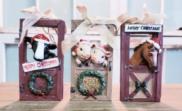 Barn Door Ornaments