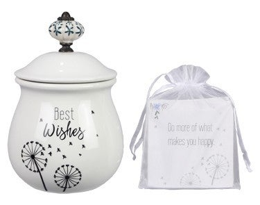 Best Wishes Jar with 20 Cards