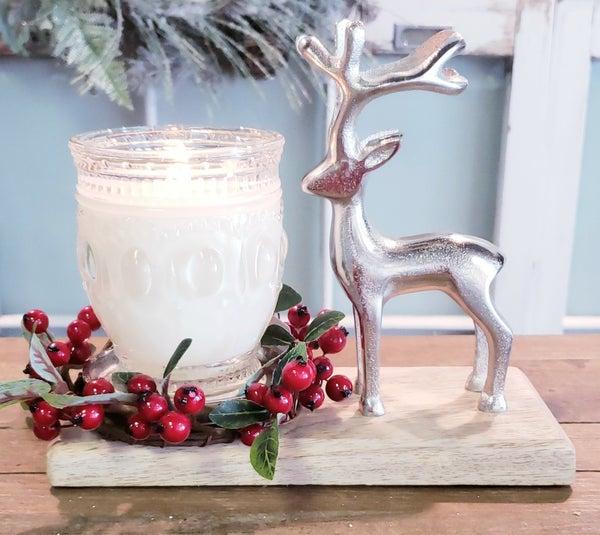 Winter Wonder Candle Holder