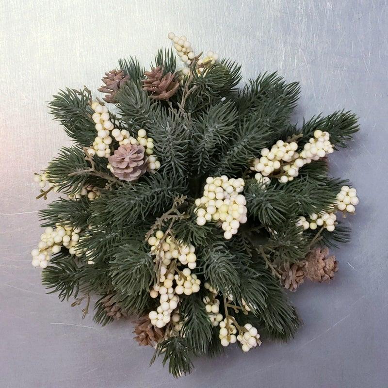 Cream Spruce Half Sphere
