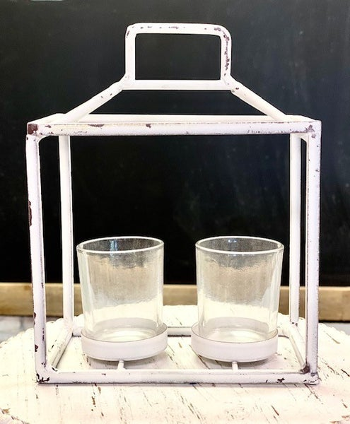 Two tealight holder