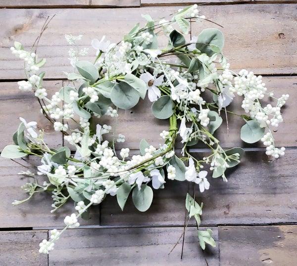 Daisy Eucalyptus Candle Ring