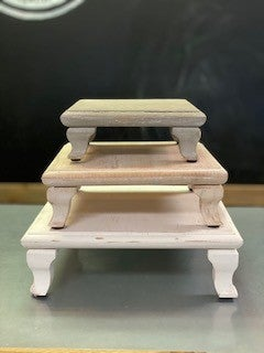 Square Wooden Risers