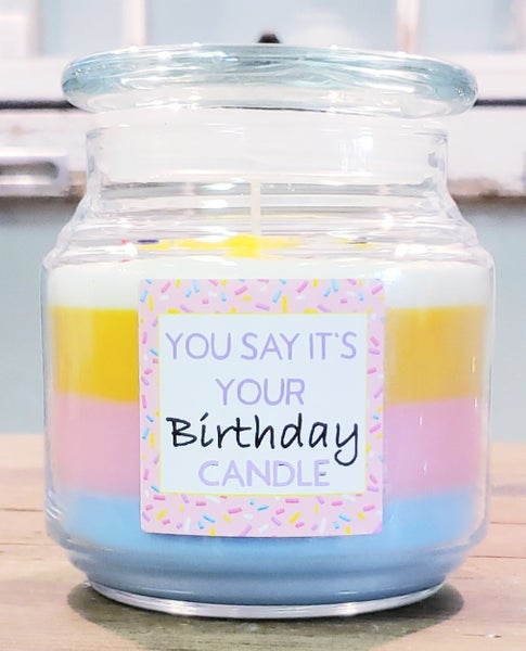 It's Your Birthday Candle