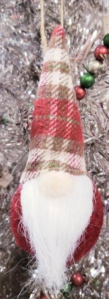 Small Red Gnome Ornaments