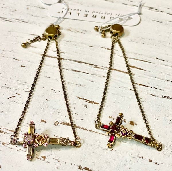 Sorrelli Cross Bracelet