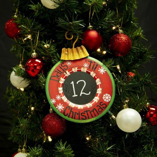 Countdown Christmas Ornament