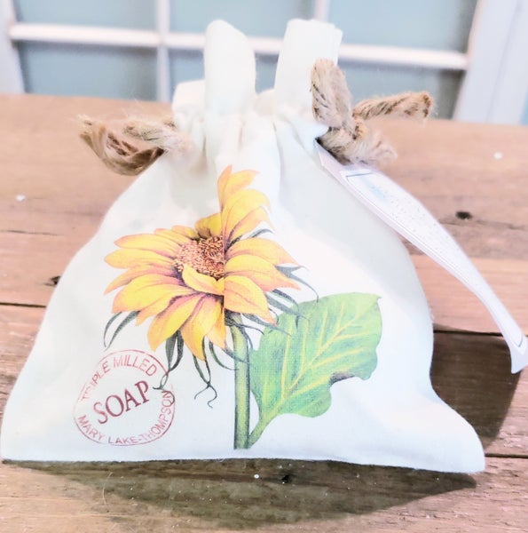 Sunflower Sack of Soap