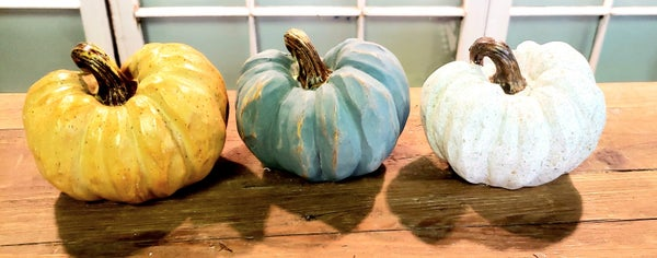 Small Colorful Pumpkins