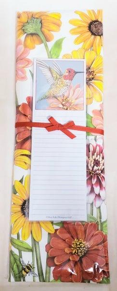 Hummingbird Tea Towel & Notepad Set
