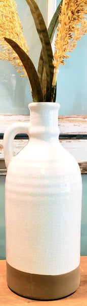 Large Crackled Jug