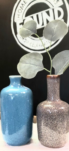 Large Colorfull Stoneware Vases