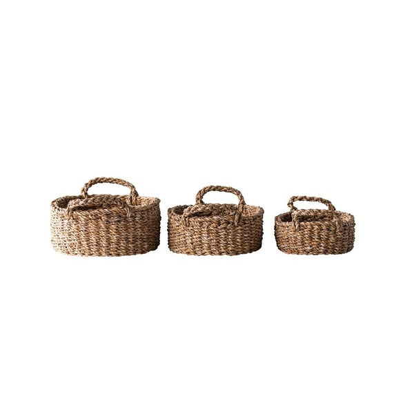 Oval Seagrass Trays
