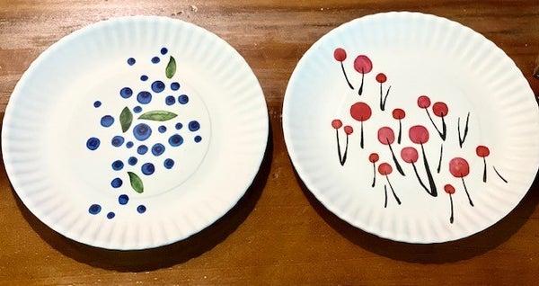 Summer Patriotic Melamine Plates