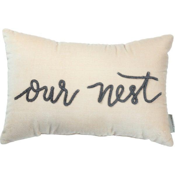Our Nest Lumbar Pillow