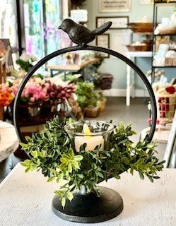 Bird Ring Candle Holder