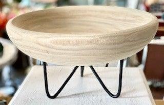 Wood Riser Bowl