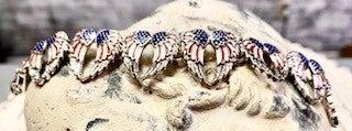 Angel Wing Americana Bracelet