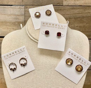 Sorrelli Garnet & Gold Collection