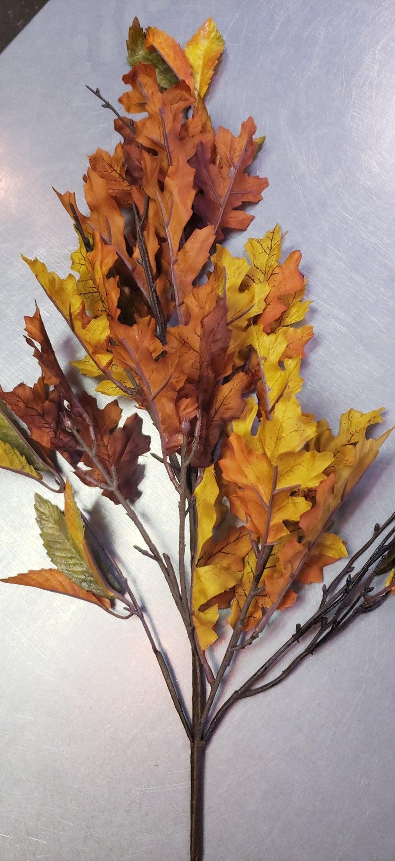 Fall Mixed Leaf Spray