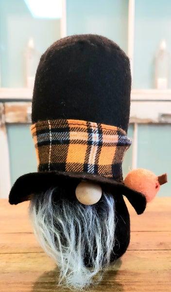 Tiny Mr. Pumpkin Gnome