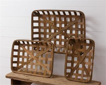 Rectangular Tobacco Baskets