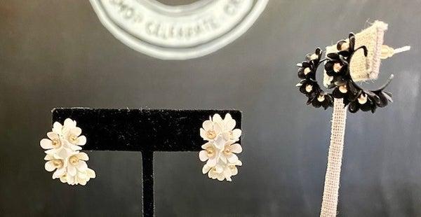 Flower Cuff Earrings