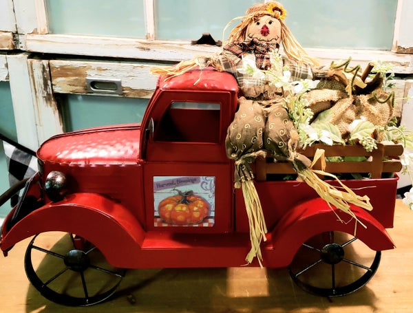 Vintage Red Truck/Seasonal Magnets