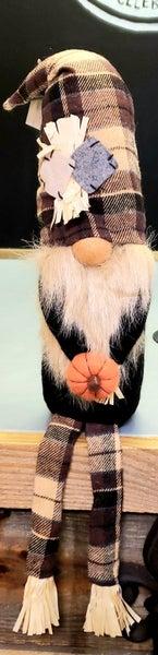 Scarecrow Gnome w/ Legs