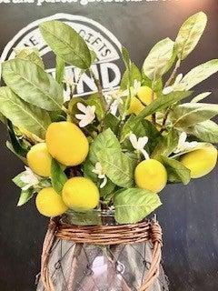 Fresh Lemon Stems